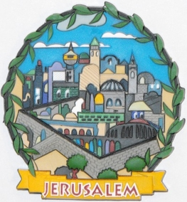 The Old City of Jerusalem Magnet