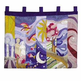 The Seven Days of Creation Wall Hanging CAT# WXL- 1