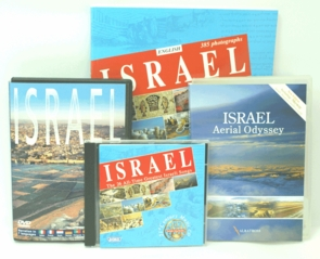 The Ultimate Israel Experience Kit DVDs, Music CD, Book