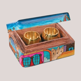 Travel Candlesticks Box BCS-1 CAT# BCS-1