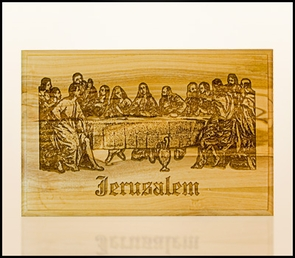 Wall plaque engraving with laser 1407/03