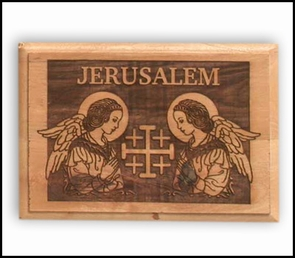 Wall plaque engraving with laser 1407/08