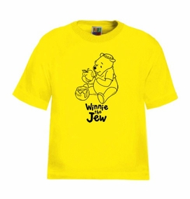 Winnie the Jew Kids T-Shirt