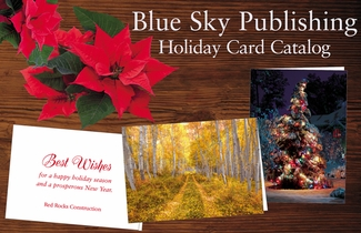Business greeting cards blue sky publishing personalized holiday cards m4hsunfo
