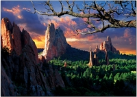 Personalize<br> Morning Light, Garden Of The Gods