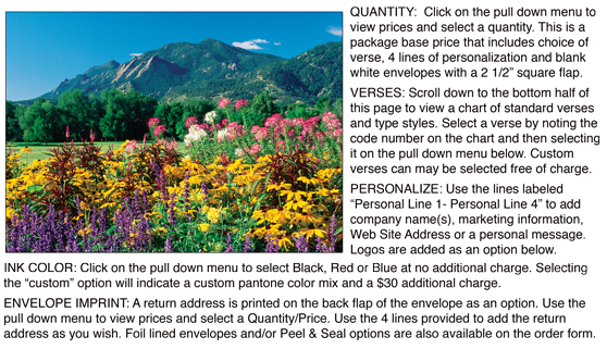 Personalize<br>Spring Flowers & Flatirons