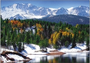 Pikes Peak From Crystal Reservoir<br>Boxed Set