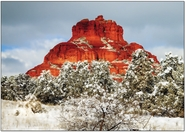 Redrocks and Snowfall