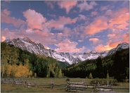 Sneffels Autumn Sunset