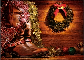 Western Holiday Boots<br>Boxed Set