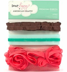 American Crafts Dear Lizzy Ribbons Lovely (S/O)