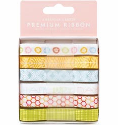 American Crafts: Hello Sunshine - Dusk Ribbons