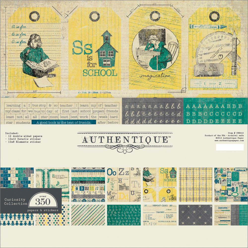 Authentique Paper Curiosity Collection Kit 12x12