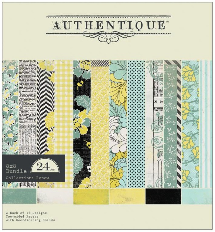 Authentique Paper Renew Paper Pad 8x8