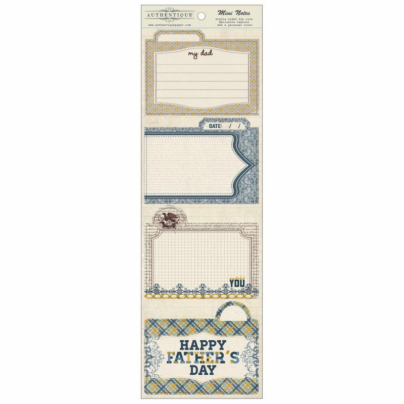 Authentique Paper - Strong Die-Cuts Mini Notes
