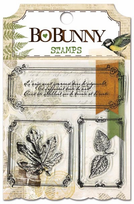 Bo Bunny - Trail Mix - Clear Stamps (S/O)
