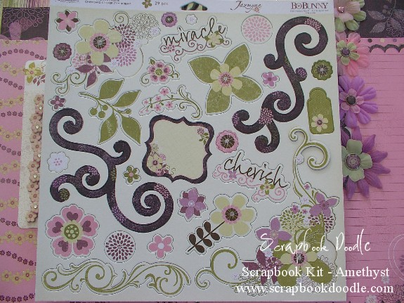 "Chipboard Stickers 12""x12"""