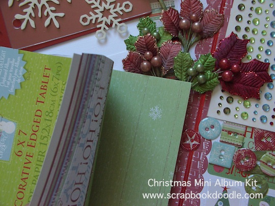 Christmas Mini Album Kit