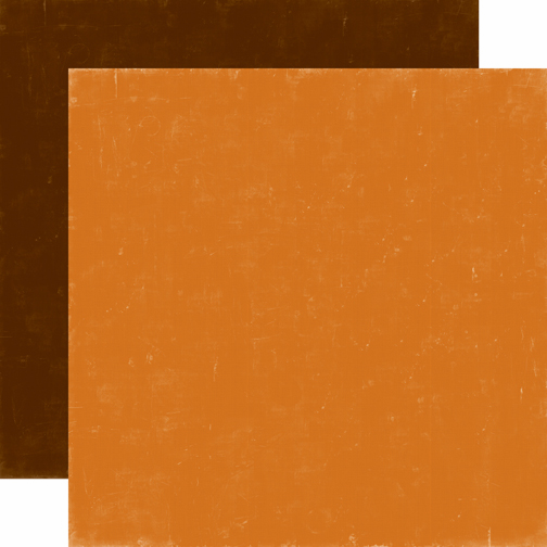 Echo Park Paper - Happy Camper - Cardstock Orange/Brown