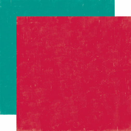 Echo Park Paper - Happy Camper - Cardstock Red/Teal