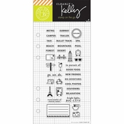 Hero Arts Kelly Purkey Adventure Planner Clear Stamps (E)