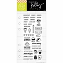 Hero Arts Kelly Purkey Food Planner Clear Stamps (E)