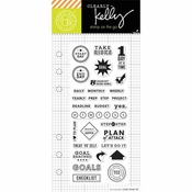 Hero Arts Kelly Purkey Goal Planner Clear Stamps (E)