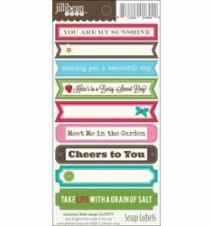 Jillibean Soup - Coconut Lime Soup - Sticker Soup Label