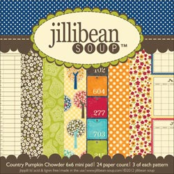 Jillibean Soup - Country Pumpkin Chowder - Paper Pad 6x6