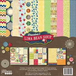 Jillibean Soup - Grandma's Lima Bean Soup - Collection Pack 12x12 (S/O)