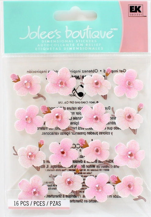 Jolee's Boutique Dimensional Stickers Cherry Blossom (S/O)