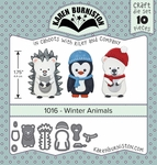 Karen Burniston Winter Animals Die Set 1016