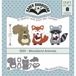 Karen Burniston Woodland Animals Die Set 1001