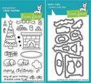 Lawn Fawn Christmas Dreams Stamp and Die Set LF1466 & LF1467
