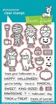 Lawn Fawn Costume Party Clear Stamp and Die Set LF1458 LF1459