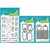 Lawn Fawn For You, Deer Add-ons Stamp and Die Set LF1480, LF1481 & LF1482
