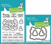 Lawn Fawn How You Bean? Candy Corn Add-on Stamp and Die Set LF1460 & LF1461