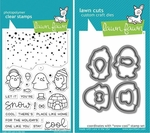 Lawn Fawn Snow Cool Stamp and Die Set LF1226 & LF1227