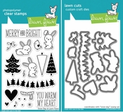 Lawn Fawn Snow Day Stamp and Die Set LF723 & LF724
