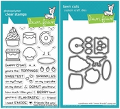 Lawn Fawn Sweet Friends Stamp and Die Set LF1551 & LF1552