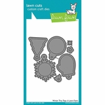 Lawn Fawn Winter Tiny Tags Die Set LF1494