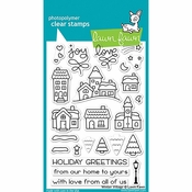 Lawn Fawn Winter Village Clear Stamp Set LF1472