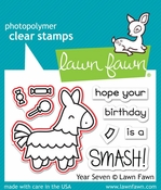 Lawn Fawn Year Seven Stamp and Die Set LF1338 & LF1339
