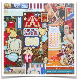 Scrapbook Kit - Carnival