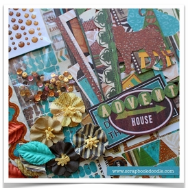 Scrapbook Kit - Safari