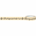 October Afternoon Under The Tree Music Notes Washi Tape