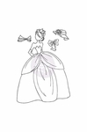 Prima Julie Nutting Cling Stamp Aurora