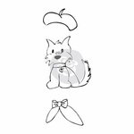 Prima Julie Nutting Cling Stamp Dog Treats