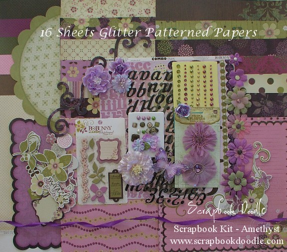 Scrapbook Kit - Amethyst