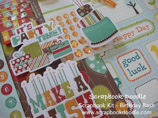 Scrapbook Kit - Birthday Bash